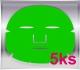Kopie - maska obličej green tea