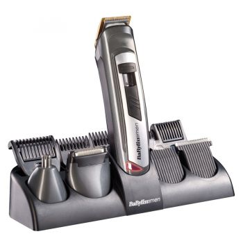 BABYLISS Men E826E Strihací strojček na vlasy a zastrihávač fúzov a chĺpkov  v jednom 68818c01e03