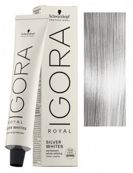 how to use igora royal absolutes silver white