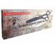 Efilační nůžky FOX BARBER EXPERT 6 gunmetal 2