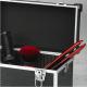 Profesionální kadeřnický a kosmetický kufr Sibel - černý 2