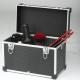 Profesionální kadeřnický a kosmetický kufr Sibel - černý 1